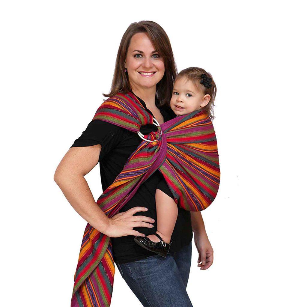Maya Wrap Baby Carrier