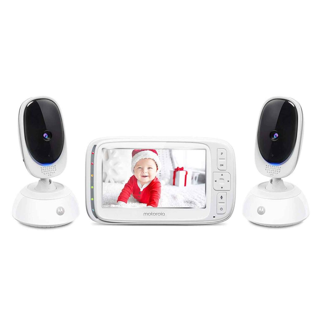 Motorola Comfort 75-2 Pack Video Baby Monitor