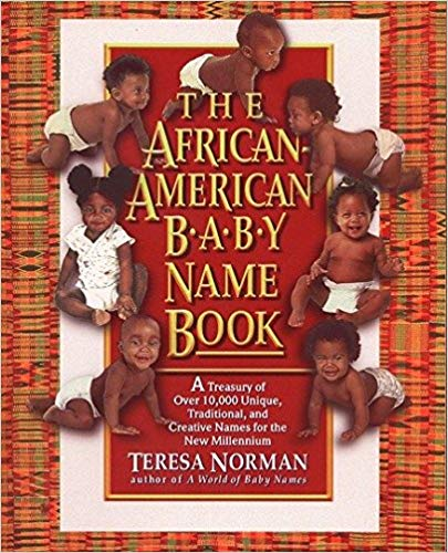The African-American Baby Name Book: A Treasury of over 10,000 Unique, Traditional, and Creative Names for the New Millennium