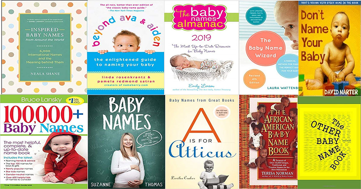 best baby name books