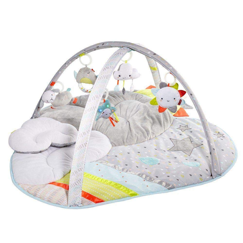 Skip Hop Silver Lining Cloud Baby Play Mat and Infant Activity Gym